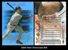 2000 Fleer Showcase #36