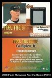 2000 Fleer Showcase Feel the Game #FG10