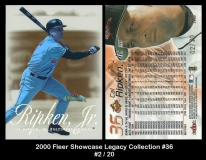 2000 Fleer Showcase Legacy Collection #36