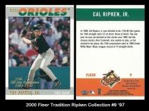 2000 Fleer Tradition Ripken Collection #9 '97