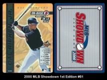 2000 MLB Showdown 1st Edition #61