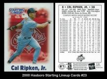 2000 Hasboro Starting Lineup Cards #23