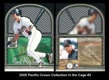 2000 Pacific Crown Collection In the Cage #3
