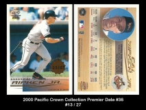 2000 Pacific Crown Collection Premier Date #36