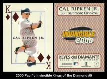 2000 Pacific Invincible Kings of the Diamond #5