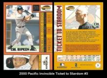 2000 Pacific Invincible Ticket to Stardom #3