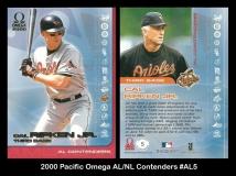2000 Pacific Omega AL NL Contenders #AL5