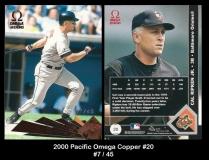2000 Pacific Omega Copper #20