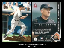 2000 Pacific Omega Gold #20