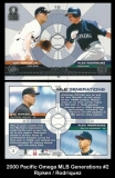2000 Pacific Omega MLB Generations #2