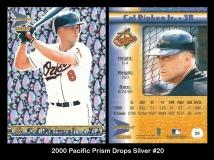 2000 Pacific Prism Drops Silver #20