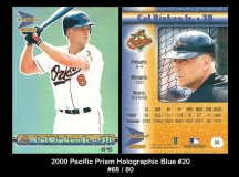 2000 Pacific Prism Holographic Blue #20