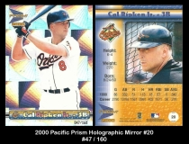 2000 Pacific Prism Holographic Mirror #20