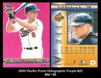 2000 Pacific Prism Holographic Purple #20