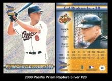 2000 Pacific Prism Rapture Silver #20