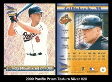 2000 Pacific Prism Texture Silver #20