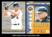 2000 Pacific Prism Tinsel Silver #20