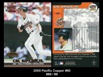 2000 Pacific Copper #60