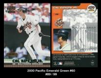2000 Pacific Emerald Green #60