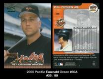 2000 Pacific Emerald Green #60A