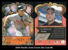 2000 Pacific Gold Crown Die Cuts #6