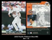 2000 Pacific Platinum Blue #60
