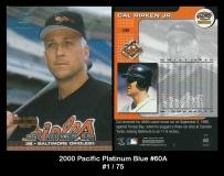 2000 Pacific Platinum Blue #60A