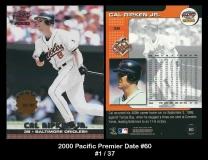 2000 Pacific Premier Date #60