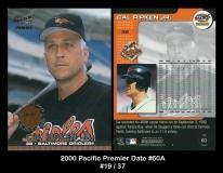2000 Pacific Premier Date #60A