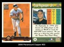 2000 Paramount Copper #33