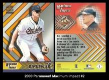 2000 Paramount Maximum Impact #2