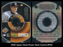 2000 Upper Deck Power Deck Inserts #PD2