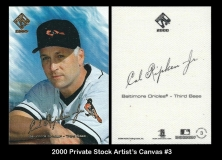 2000 Private Stock Artists Canvas #3