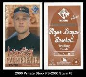 2000 Private Stock PS-2000 Stars #3