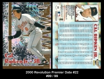 2000 Revoluton Premier Date #22