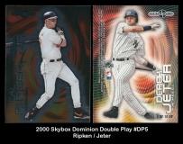 2000 Skybox Dominion Double Play #DP5