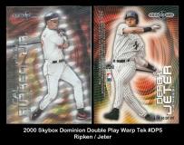 2000 Skybox Dominion Double Play Warp Tek #DP5