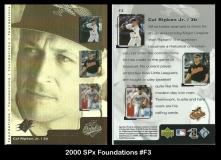 2000 SPx Foundations #F3
