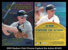 2000 Stadium Club Chrome Capture the Action #CA20