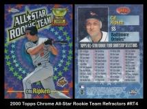 2000 Topps Chrome All-Star Rookie Team Refractors #RT4