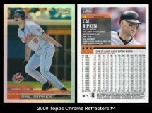 2000 Topps Chrome Refractors #4