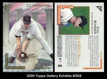2000 Topps Gallery Exhibits #GE8