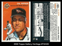 2000 Topps Gallery Heritage #TGH20