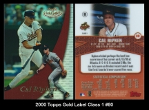2000 Topps Gold Label Class 1 #80