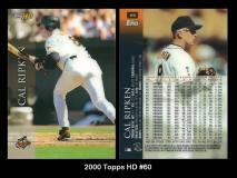 2000 Topps HD #60