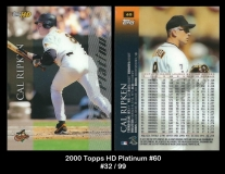 2000 Topps HD Platinum #60