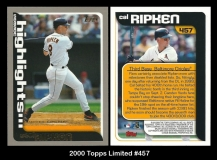 2000 Topps Limited #457