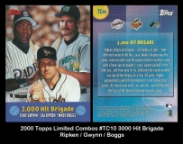 2000 Topps Limited Combos #TC10 3000 Hit Brigade