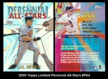 2000 Topps Limited Perennial All-Stars #PA4