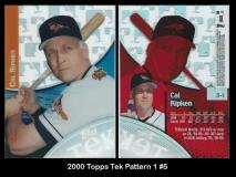 2000 Topps Tek Pattern 1 #5
